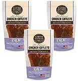 Earth Animal Calming USA Chicken Jerky Dog Treats, 8 Ounces (3 Pack)