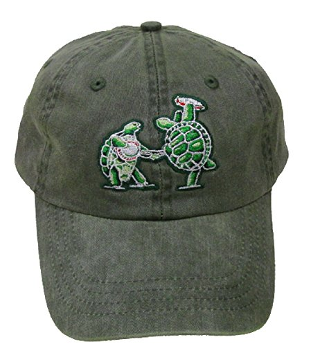 Dancing Bear Green - Blue Mountain Dyes LLC Licensed Grateful Dead Terrapin Station Embroidered Cap (Green)