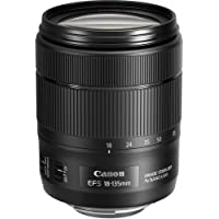 Canon EF-S 18-135mm f/3.5-5.6 Image Stabilization USM Lens (Black) (International Model) No Warranty [Bulk Packaging]
