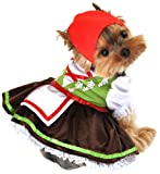 Anit Accessories Alpine Girl Dog Costume, Large, 20-Inch