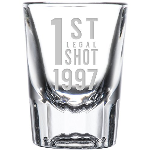 21st Birthday (1st Legal Shot Glass (1997))