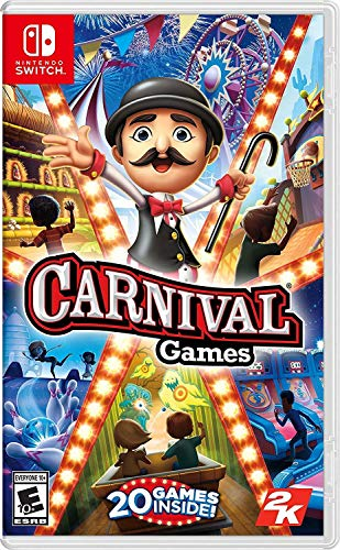 Carnival Games - Nintendo Switch (Games Wii Party Pacman)