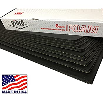 Vibro 7mm Exclusive Multi-Layer Acoustical Absorption Material 9 Sheets per Box for Under HEADLINERS-Sound Absorption-Car Sound Absorber and Insulator Not Russia Buy /& Support Made in USA