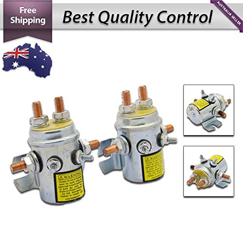 (2) STARTER SOLENOID RELAY SWITCH 24V WINCH MOTOR 4X4 4WD FREE (4wd Starter)