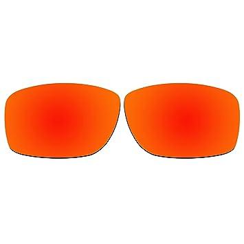 Acompatible Lentilles de remplacement pour Oakley Canteen NEUF (2014Year) Lunettes de soleil Oo9225, Fire Red Mirror - Polarized