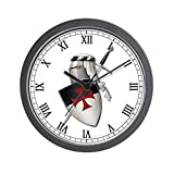 Best Knight Alarm Clocks - CafePress - Knights Templar - Unique Decorative 10