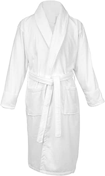 Luxury Shawl Collar SAGE Terry Towelling BATH Dressing Gown Egyptian ZEROTWIST