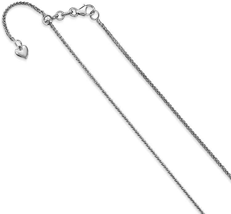 Lex /& Lu Sterling Silver 1.5mm Flat Open Oval Cable Chain Necklace