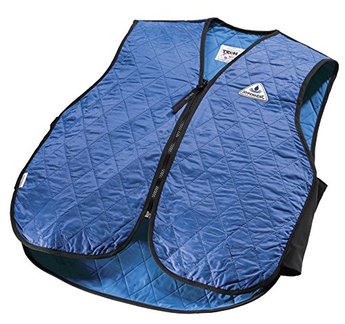 - TechNiche International Adult HyperKewl Cooling Sport Vest, Large, Royal Blue