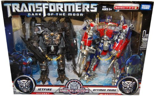 Dark of the Moon - Leader Class - Buster Optimus Prime & Jetfire Giftset