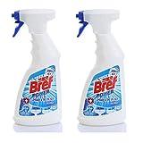 Homemade Toilet Bowl Cleaner Bref Power-Mold Removal Bathroom Cleaner, Spray Bottle, For Bathroom 2er Pack (2 x 500 ml) / Bathroom / Toilet / Tile / Sink / Bath / Soap / Washing / WC / Household / Office / Public Institution