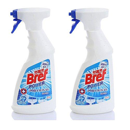 Bref Power-mold Removal Bathroom Cleaner, Spray Bottle, For Bathroom 2er Pack (2 X 500 Ml) / Bathroom / Toilet / Tile / Sink / Bath / Soap / Washing / Wc / Household / Office / Public Institution Picture