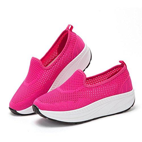 Da on Platform Primavera Guida Autunno Loafers Xue Fitness Scarpe Shaking Size Shoes Sneakers E Mocassini 42 Donna Athletic Mesh colore Flat Shake C A Slip 5wHp4xqz