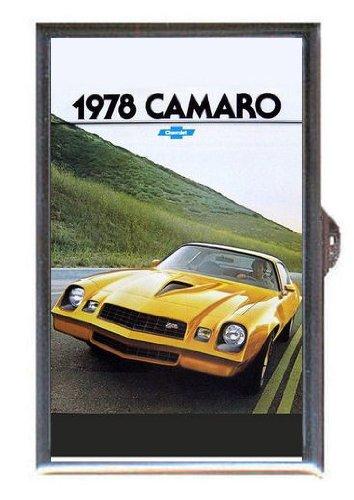 1978-chevrolet-camero-yellow-sports-car-retro-guitar-pick-or-pill-box-usa-made