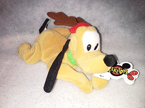 Reindeer Pluto Beanie Baby
