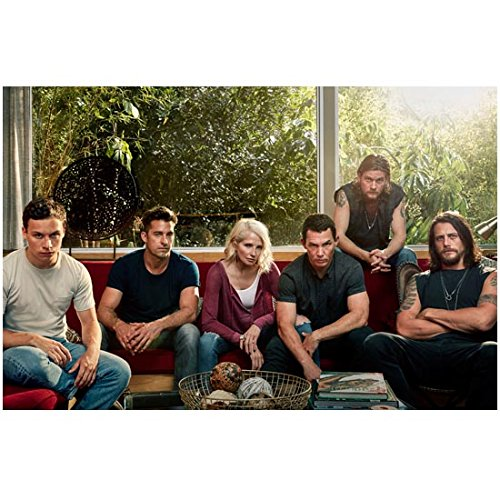 Animal Kingdom (TV Series 2016 - ) 8 inch by 10 inch PHOTOGRAPH Cast Pic Sitting on Couch kn