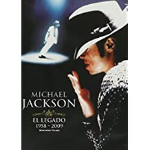 Michael Jackson: El Legado 1958 - 2008 (Michael Jackson: The Legacy) [*Ntsc/region 1 & 4 Dvd. Import-latin America] Spanish Cover