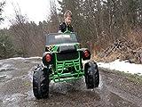 Monster Truck Power Wheels. Wicked Winter Weather Freestyle!