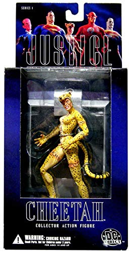 Cheetah Action Figure Alex Ross Justice League Series 1