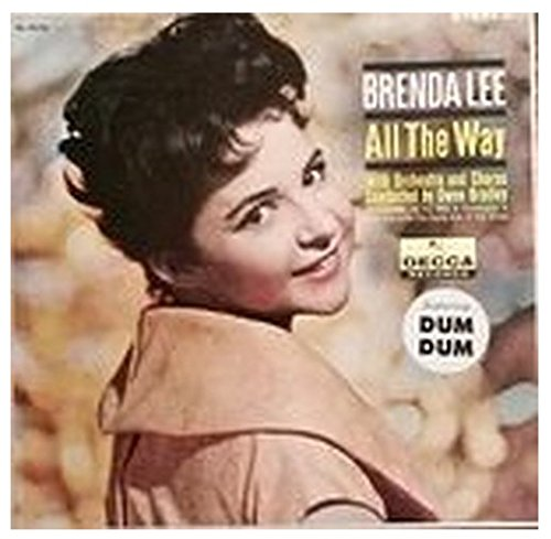 BRENDA LEE - all the way DECCA 74176 (LP vinyl record) by Decca Records