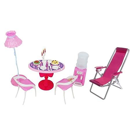 Amazoncom B Blesiya Fashion Doll Furniture Playset Doll House