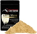 Lion's Mane Mushroom Extract Powder – Organic Nootropic Supplement – Helps Regulate Mood, Supports Brain Function, Improves Well Being, Memory Support – (100 g) Review