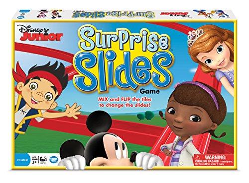 Ladders Board Game (Disney Junior Surprise Slides)