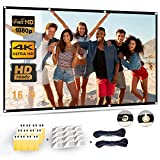TOPVISION 100 inch Projection Screen 16:9 HD