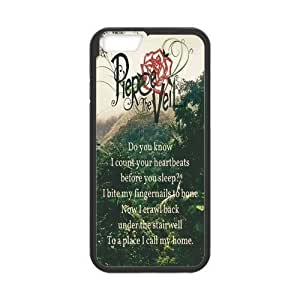 At-Baby Custom Fashion Pierce the Veil Gel Rubber Phone Case Cover for iPhone 6 4.7inch Laser Technology TT1 by Maris's Diary