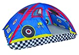 Pacific Play Tents 19711 Kids Rad Racer Bed Tent Playhouse - Full Size Mattress