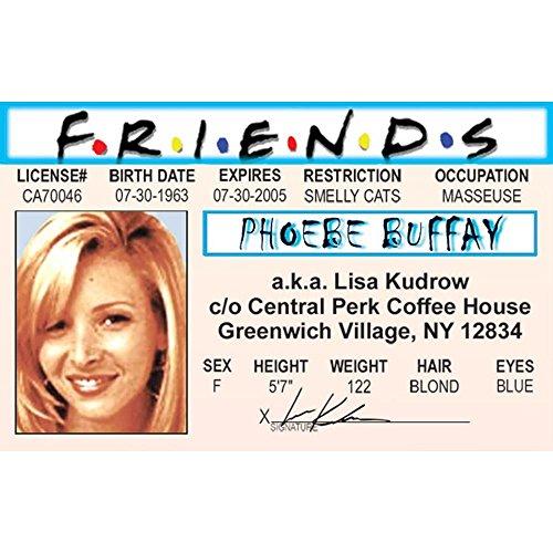 Signs 4 Fun Njaidp Phoebe's Driver's License (Light 4 Phoebe)