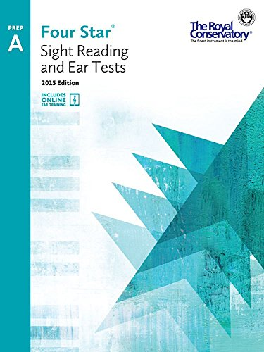 4S0A - Royal Conservatory Four Star Sight Reading and Ear Tests Level Prep A Book 2015 Edition