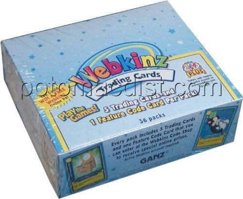 Webkinz Series 1 Trading Cards Box [Toy] by Webkinz