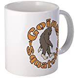 CafePress - Bigfoot Squatchin Mug - Unique Coffee Mug, Coffee Cup