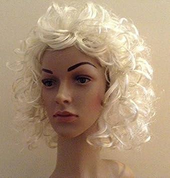Vestido de lujo Madonna Sandy Grease Marilyn Monroe 70s 80s 90s peluca rubia