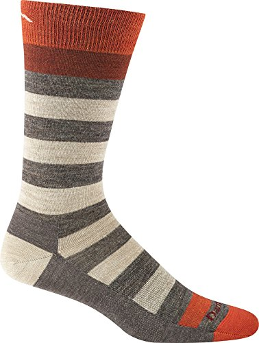 Darn Tough Vermont Men's Warlock Crew Light Hiking Socks