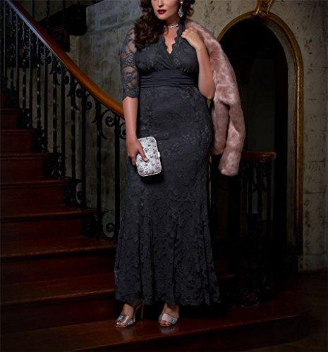 GEORGE BRIDE Damen V Ausschnitt grosse Groessen Abendkleider mit ...