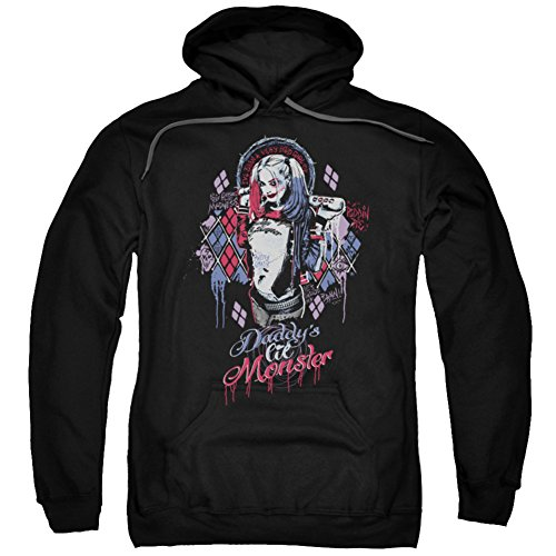 UPC 190860003645, Hoodie: Suicide Squad- Harley Quinn Lil Monster Pullover Hoodie Size L