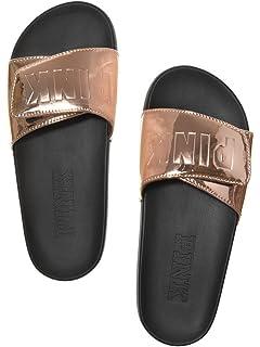 5b370081dd Victoria s Secret PINK Crossover Comfort Slide Sandals Shoes
