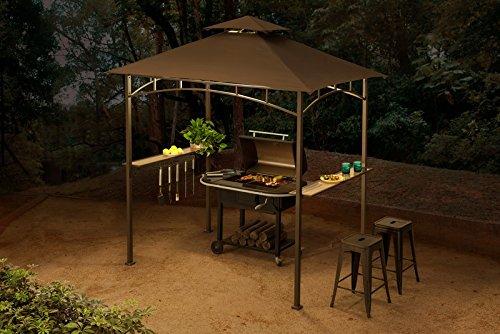 Sunjoy 110109324 Universal to L-GG001PST-F-JK-Amazon Replacement Canopy Set