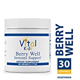 Vital Nutrients – Berry Well Immune Support – Supports and Maintains Healthy Immune System Function – Vegetarian – 90 Grams