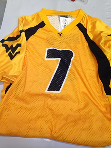 West Virginia Mountaineers Adult Size XXL Jersey made in USA (Stores In West Virginia)