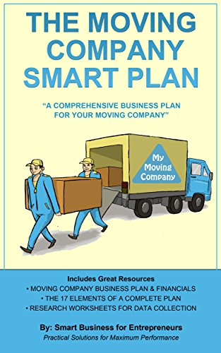 Amazoncom The Moving Company Smart Plan A Comprehensive - Moving company business plan template