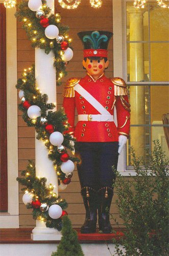 giant commercial grade fiberglass toy soldier christmas decoration display 6 - Toy Soldier Christmas Decoration