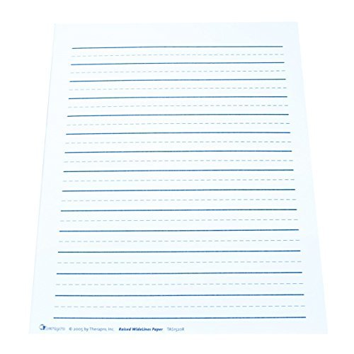 raised line paper This examines the use of raised line paper as a technology device to help students with handwriting.