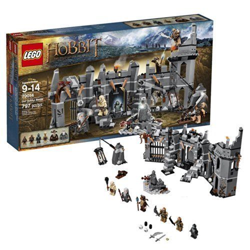 Warner Bros. The Hobbit: The Desolation of Smaug Dol Guldur Battle LEGO Set by Warner Bros. by Warner Bros.