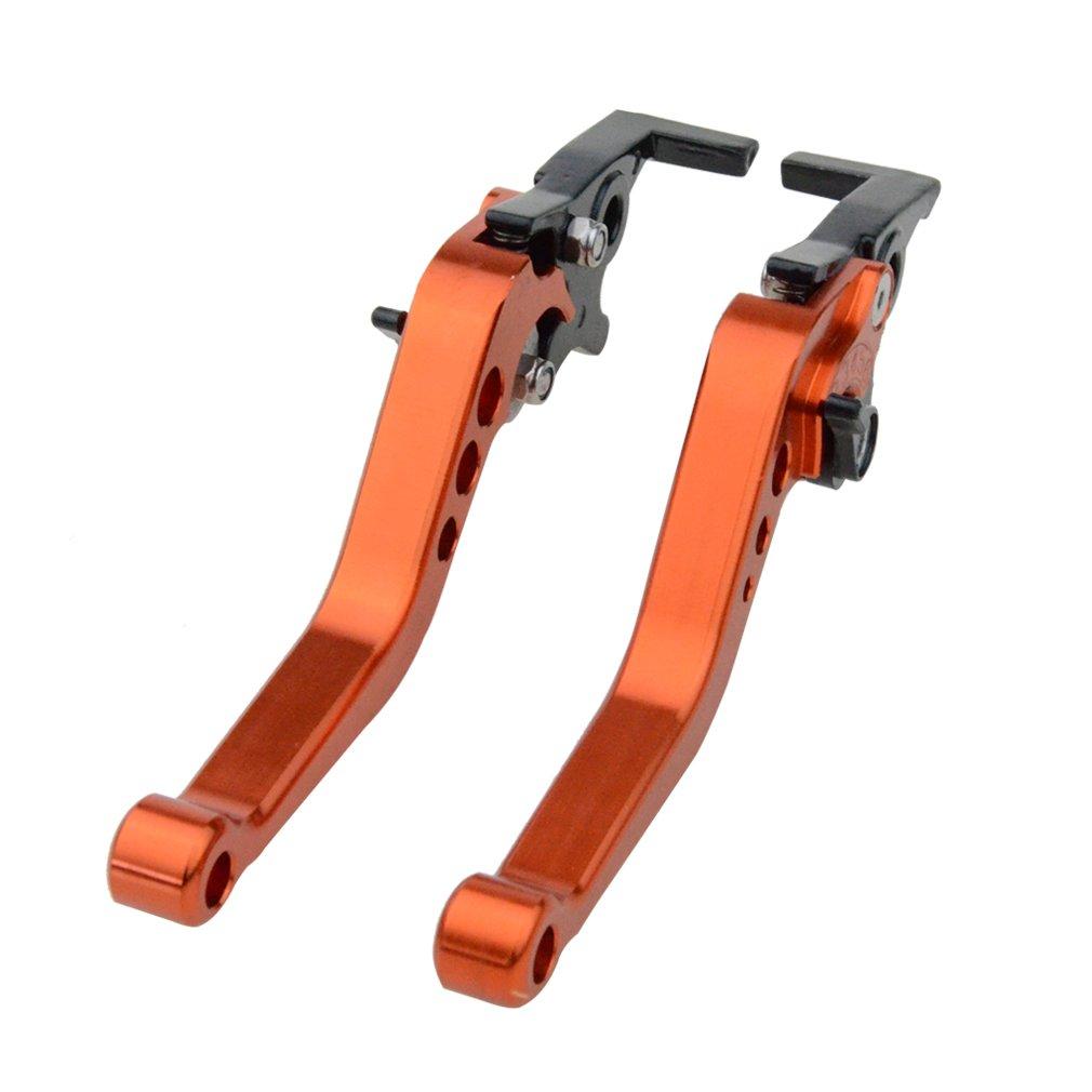 Kupplungshebel Set GOOFIT Mental CNC OEM Style 185mm Brems-