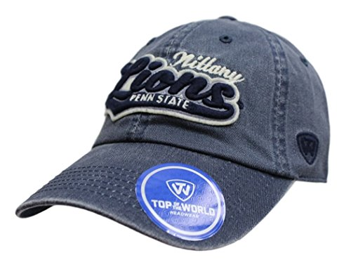 - Top of the World Penn State Nittany Lions Official NCAA Adjustable Park Hat Cap 028019