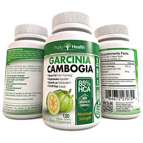 Pure Garcinia Cambogia Extract - 85% HCA (Highest Potency