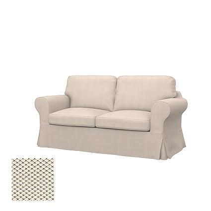 Ikea Divano Letto Due Posti.Soferia Fodera Extra Ikea Ektorp Divano Letto A 2 Posti Tessuto